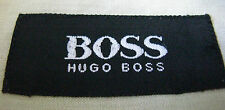 Hugo Boss Long Sleeve Cotton Green Dress Shirt Medium 15 1/2 x 34/35 Portugal