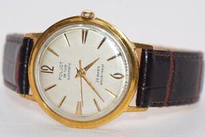 USSR Mechanical (Automatic) Watch Poljot De Luxe Cal.2415 (AU20) 29 Jewels