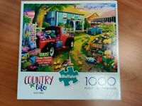 COUNTRY LIFE QUILT FARM 1000 PIECE JIGSAW PUZZLE ~ BUFFALO GAMES ~ NEW