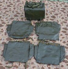 5x Original CZ Tschechische Armee Tasche, Brotbeutel, Kampftasche oliv
