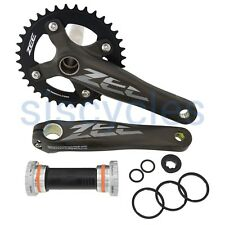 Shimano Zee FC-M645 Chainset & 83 mm Bottom Bracket - 36T 170mm