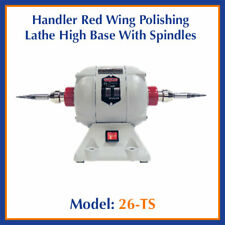 Handler Red Wing Dental Model 26 Ts Polishing Lathe High Base With Spindles