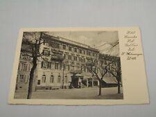 i115 Postcard Hotel Russischer France Foreign