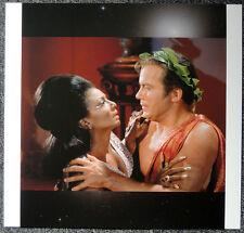 STAR TREK POSTER PAGE . CAPTAIN KIRK & LIEUTENANT UHURA . NOT DVD V5