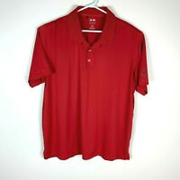 Adidas Puremotion Premium Red Golf Polo Shirt (US Sizing) Size Men's 2XL XXL