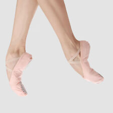 Brand new pink  women's Canvas Ballet Shoes All Size!