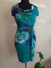 Womens desigual dress M 10 12 stunning nice stylish summer blue