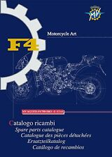MV Agusta Parts Manual Book Catalog 2010 F4 750 ORO, 750 S & 750 S1+1