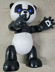 Wowwee Robopanda Robotic Panda With Cartridges 1 and 2 - WORKS!