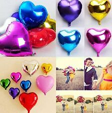 "10"" 18"" 30"" Heart Foil Balloon Baby Shower Wedding Bridal Party Mother Day Usa"