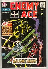 SHOWCASE ENEMY ACE 57 5.0 NICE PAGES NM DARK BLACK COVER