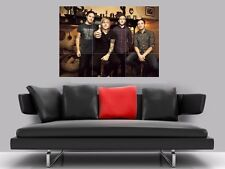 """ARCHITECTS BORDERLESS MOSAIC TILE WALL POSTER 35"""" x 25"""" METALCORE"""