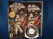 PSP Star Wars II Battlefront Video Game