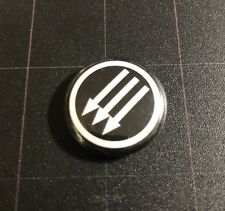 "Iron Front 1"" Button I001B Antifa Anti Nazi Anti Trump No Nazis"