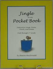 Jingle in My Pocket Book Interactive Songs Poems Charts Games Sharon MacDonald