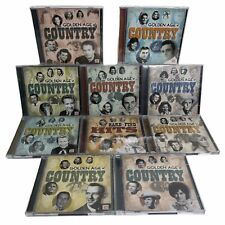 Time Life Golden Age COUNTRY 18 Disc CD BOX SET 2009 Johnny Cash Tammy Wynette
