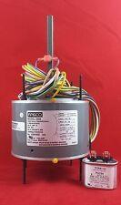 D906 Fasco 1075 RPM AC Air Conditioner Condenser Fan Motor 1/5 HP + Capacitor