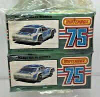 2 x Matchbox Chevy Pro-Stocker No 34  - 75 Series - Sealed