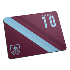 Burnley F.C - Personalised Mouse Mat (STRIPE)