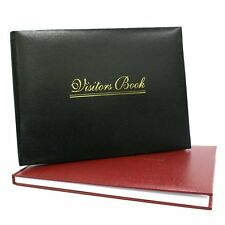 SPECIALLY OFFICE DESK OR HOTEL RECEPTION PREMIUM QUALITY VISITOR BOOK -3 Colours