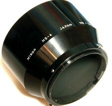 Nikon HS-4 snap-on Hood for 105mm f/2.5 105mm f/4 135mm f/3.5 Nikkor Lens Shade