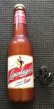Vintage Leinenkugel's Lighted Beer Bottle Sign 29 1/2 Inches Tall