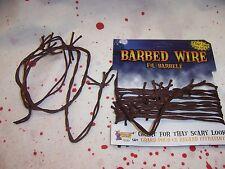 12 Feet Rusty Faux Barbed Wire Halloween Soft Prop NIP