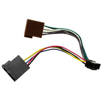 Autoradio Radio Adapter Kabel DIN ISO 16 Pin für Clatronic AR661 AR663 AR663
