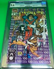 New Mutants #100 4/91 CGC 9.6 - 1st appearance of X-Force & Shatterstar