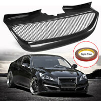 Real Carbon Fiber Front Bumper Mesh Grille Grill For Hyundai Genesis Coupe