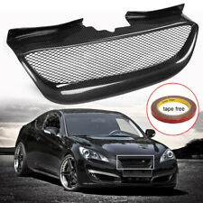 Real Carbon Fiber Front Bumper Mesh Grille Grill For Hyundai Genesis Coupe 08-12