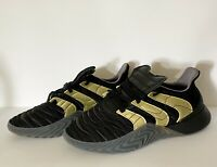 NWT Adidas Sobakov Boost Men's Size 9 Shoes Core Black Gold  Carbon D98155