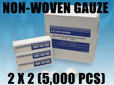 Starryshine Dental 2X2 GAUZE NON WOVEN GAUZE SPONGES NON-STERILE 4-ply 5,000 pcs