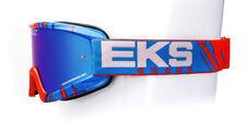 EKS Brand X-Fade Phantom MX Offroad Goggles Red White Blue OS