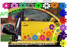 40 FLOWER multi Bright color Car golf cart decl pontoon boat kayak vw beetle USA