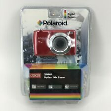 Polaroid 20 MP Digital Red Camera 10x Optical Zoom i20x29