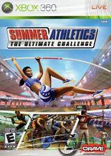 Summer Athletics: The Ultimate Challenge (Microsoft Xbox 360, 2008)