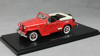 Neo Models Willys Jeepster in Red 1948 47065 1/43 NEW