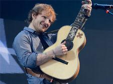 "Ed Sheeran English Singer Songwriter Fabric Poster 40/"" x 24/"" E05"