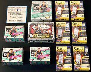 Los Angeles Lakers - 2021 Optic, Prizm & Select Basketball Box Break #48