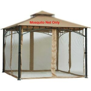 Replacement Mosquito Netting for Gazebo 12ftx12ft (Gazebo Mosquito Net Only)