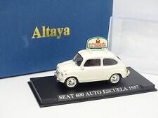 Prensa Ixo 1/43 - Seat 600 Auto Escuela