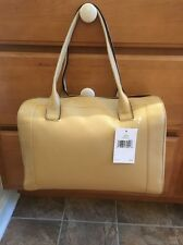KATE SPADE NEW YORK MANSFIELD LIV LEATHER SHOULDER BAG $428 NWT