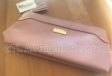 Real Techniques pink faux leather makeup bag/pouch brush bag stocking gift