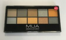 MUA MAKEUP ACADEMY PROFESSIONAL EYESHADOW PALETTE GOING FOR GOLD 10 COLORI