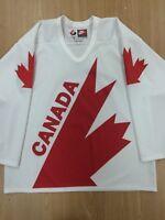 TEAM CANADA JERSEY CANADA CUP '76 '81 '84 '87 '91 WHITE L