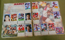 #T311.   1994  MANLY SEA EAGLES SELECT RUGBY LEAGUE  STICKERS