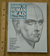 Drawing the Human Head by Burne Hogarth facial features anatomy movement