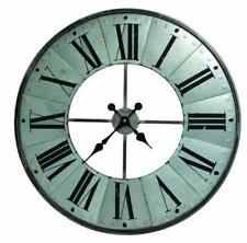 "Large Windmill Inspired Farmhouse Wall Clock, 27"""