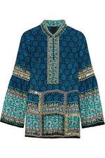 Damenblusen, - tops & -shirts im Tunika-Stil aus Seide